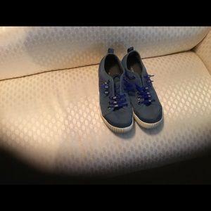 Merrill Blue Shoes